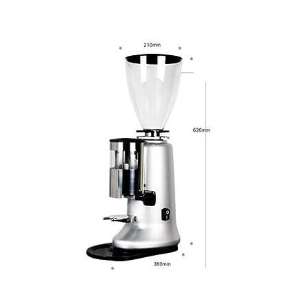 Coffee Machine Industrial Italiano Profesional Máquina De Pulir Café Eléctrico Amoladora Presión Alimentador