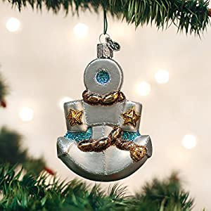 51%2Bq-T-wcNL._SS300_ 75+ Anchor Christmas Ornaments