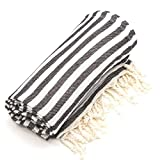 Linum Home Textiles Turkish Cotton Fun in the Sun Pestemal, Peshtemal, Fota Beach Bath Towel