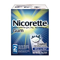 Nicorette Nicotine Gum to Quit Smoking, ...