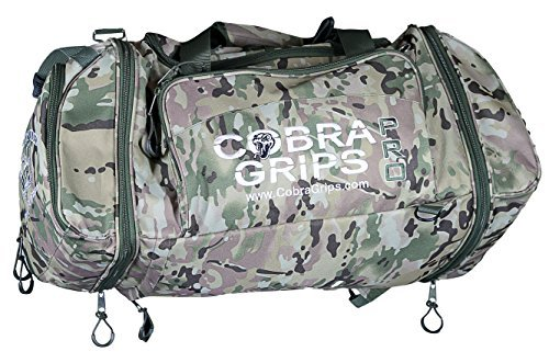 Sport Large Best Gym Duffle Bag Wet Dry Storage Cobra Grips Grip Power Pads  (Camo 15fcfc7b0294f