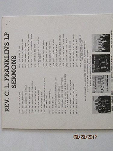 Rev. C.L. Franklin Sings [VINYL LP]