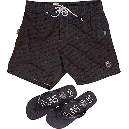 Smith & Jones - Pantalón corto - para hombre negro