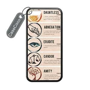 Divergent Insurgent Logo Custom Hard Plastic & Rubber Case for iPhone 5c - iphone 5c Case Cover