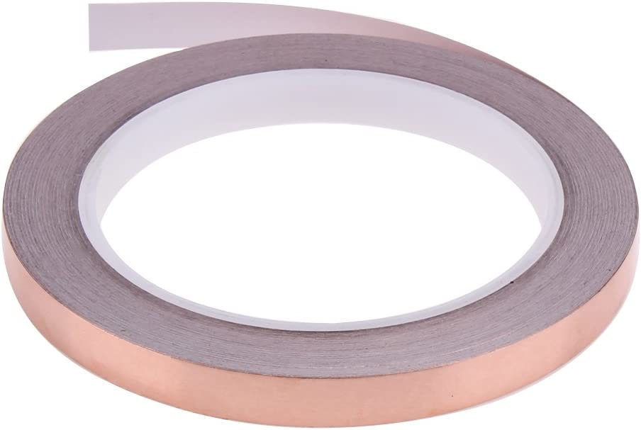 Manualidades Vidrieras Soldadura Reparaciones El/éctricas Terra Cinta de blindaje EMI 5 mm; 10 mm; 15 mm x 20 metros DaoRier 3pack Copper Foil Tape Conductiva con Adhesivo