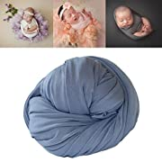 Coberllus Newborn Baby Photo Props Blanket Stretch Without Wrinkle Wrap Swaddle For Boys Girls Photography Shoot