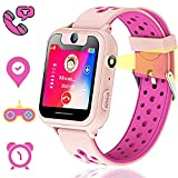 Themoemoe Kids GPS Tracker Watch, Kids Smart Watches Girls, GPS Watch for Kids