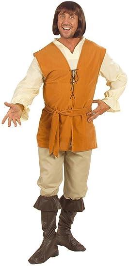 WIDMANN Desconocido Disfraz medieval de campesino para ...