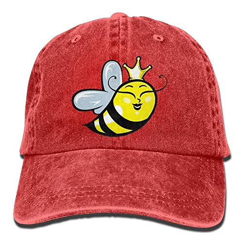 DEFFWB Hat Q Bee Denim Skull Cap Cowboy Cowgirl Sport Hats for Men Women
