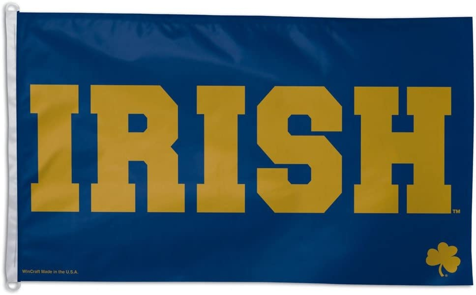 Notre Dame Big 3x5 Flag