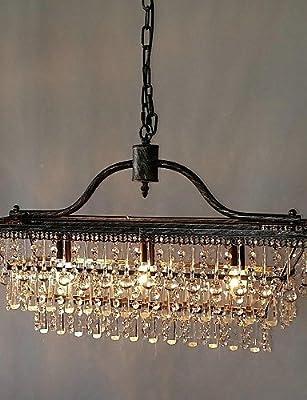 UZI-MAX:60W Traditional/Classic Crystal Metal Chandeliers Bedroom / Dining Room / Study Room/Office / Hallway