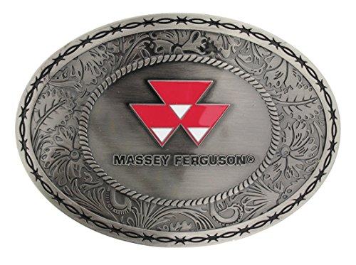 Massey Ferguson Belt Buckle Oval Amazon Clothing