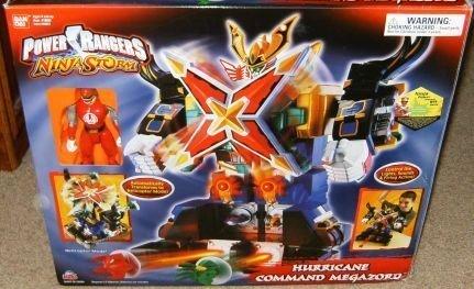 Hurricane Command Megazord Power Rangers Ninja Storm Electronic Action Figure (Spd Power Rangers Light)