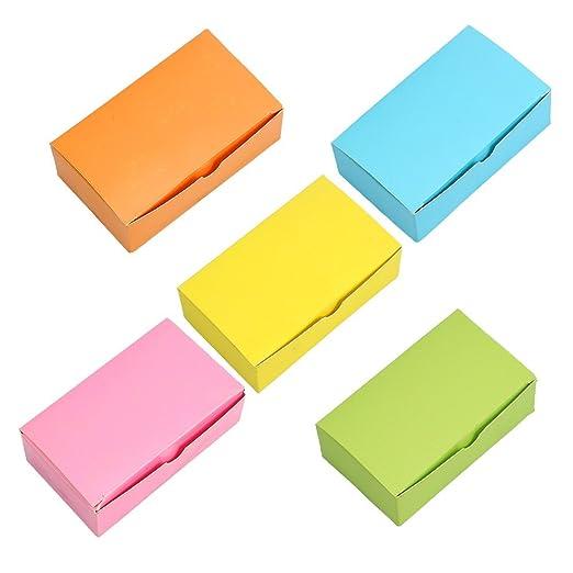 CTGVH Tarjeta de notas, 1 unidad de papel en blanco de colores ...