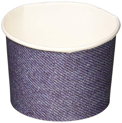Creative Converting Denim Paper Treat Cups Party Supplies, Multicolor]()