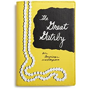 kate spade new york Canvas Kindle Cover (Fits Kindle Keyboard), the great gatsby
