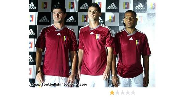 adidas 2012-13 Venezuela Home Football Soccer T-Shirt Camiseta: Amazon.es: Deportes y aire libre