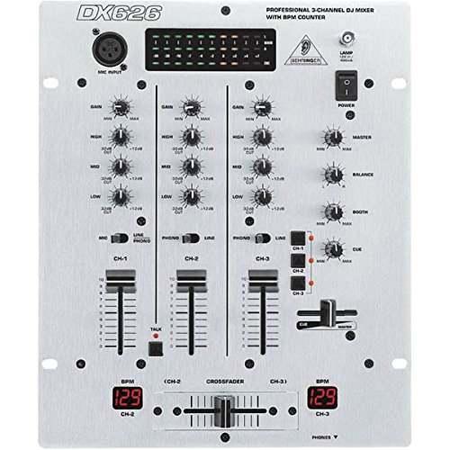 Behringer Mixer Professional 3 Channel Counter