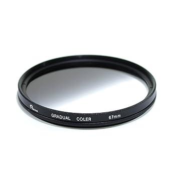 67 mm Graduado color gris (densidad neutra) Filtro de color para ...