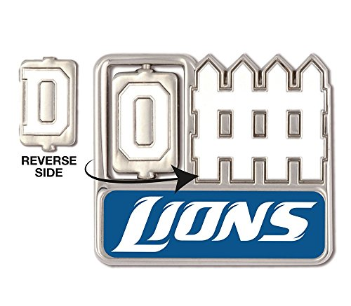 NFL Detroit Lions 12354115 Collector Pin Jewelry Card Detroit Lions Football Pin