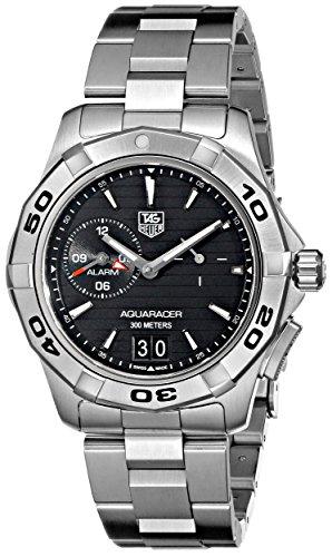 TAG Heuer Men's WAP111Z.BA0831 Aquaracer Black Dial Watch ()