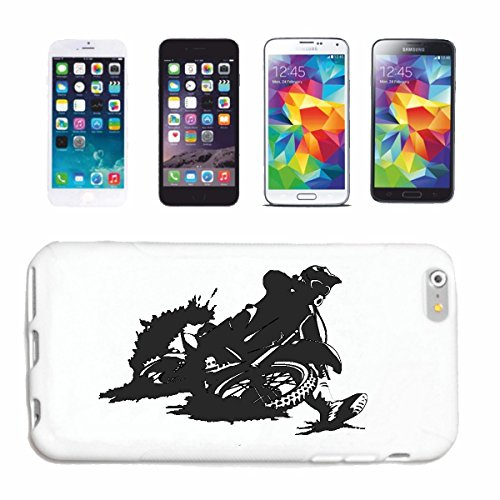 "cas de téléphone iPhone 7+ Plus ""MOTOCROSS SILHOUETTE 125cc MOTO-CROSS FREESTYLE MOTOCROSS MOTO SPORT VÊTEMENTS BIKER MOTO BIKE MACHINE"" Hard Case Cover Téléphone Covers Smart Cover pour Apple iPhone"