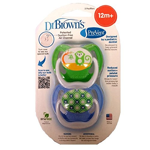 Browns Natural Pacifiers PreVent Assorted
