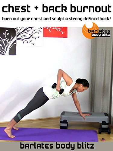 Barlates Body Blitz Chest and Back - Chest Angled