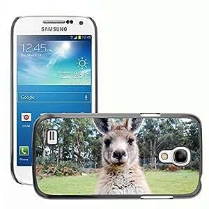 Hot Style Cell Phone PC Hard Case Cover // M00116327 Kangaroo Wallaby Australia Animal // Samsung Galaxy S4 Mini i9190