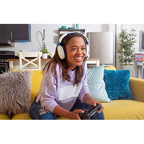 Turtle Beach Recon 70 White Gaming Headset for PlayStation 5, PS4 Pro, PS4, Xbox One & Xbox Series X S, Nintendo Switch, PC, and Mobile