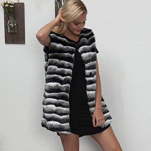46 coloré Noir Lâche Fourrure Fausse Outwear Femmes 3xl Hiver Chaud Taille Dames D'hiver Survêtement En Manteaux Veste Eu cn Casual Parka Manteau 2 qwnZRZ6gC