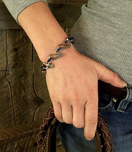 Horseshoe Nail Equestrian Bracelet ()