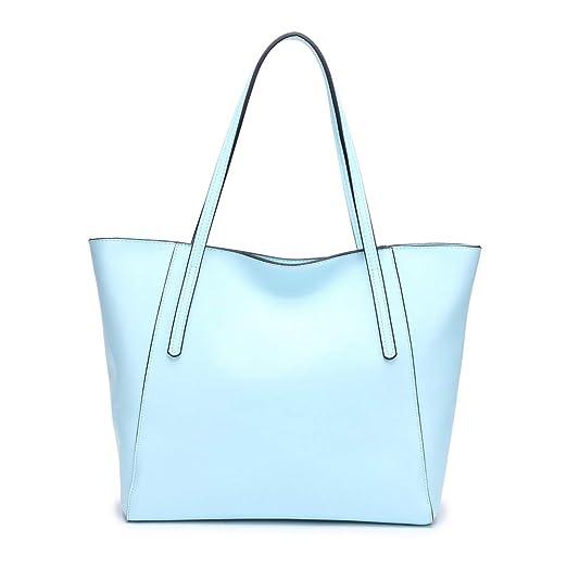 5fa538334b2 CHERRY CHICK Women's Big Leather Tote Large Purse Everyday Handbag Birthday  Gift Idea