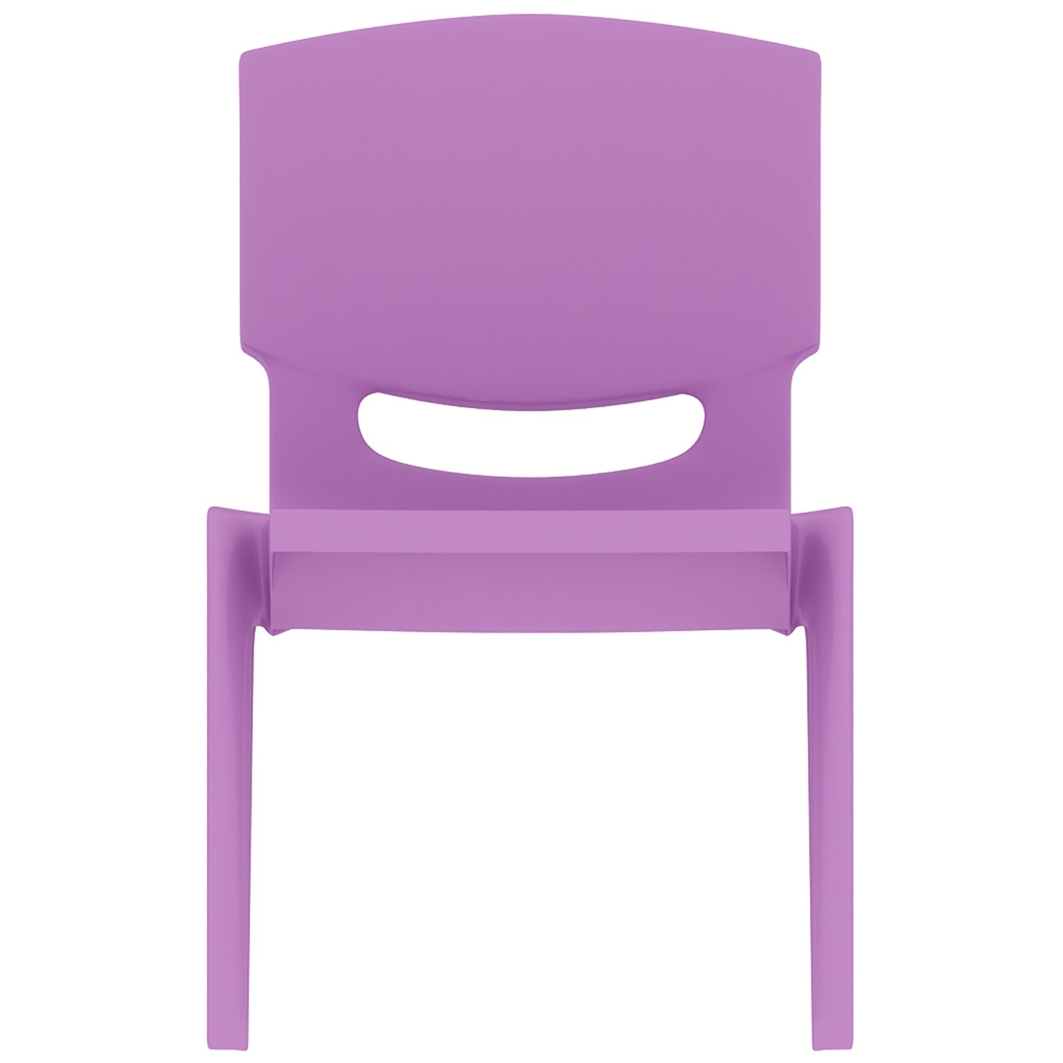 2xhome - Set of Four (4) - Purple - Kids Size Plastic Side Chair 10'' Seat Height Purple Childs Chair Childrens Room School Chairs No Arm Arms Armless Molded Plastic Seat Stackable by 2xhome (Image #6)