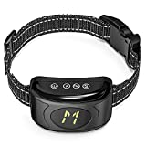 Surprise4U SP4U Bark Collar Waterproof Anti Barking Collar Li-ion Battery USB Rechargeable Stop Barking Collars Large Dog with Vibration Tone Shock Mode, Control Different Dogs