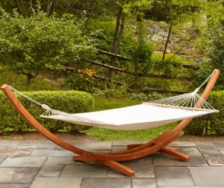 Kouklia Outdoor Double Hammock Stand