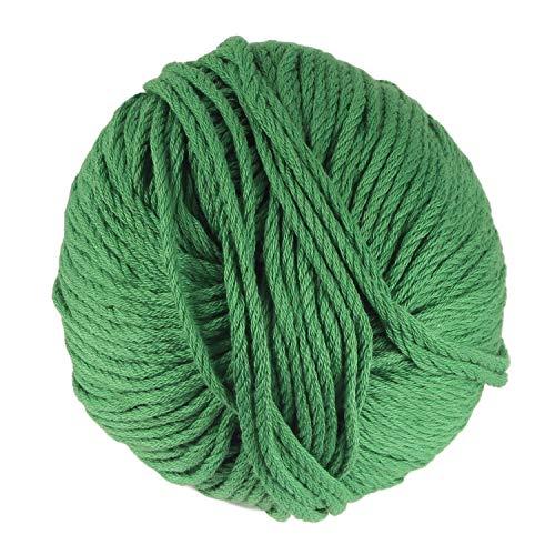 JubileeYarn Bamboo Cotton Chunky Yarn - Shamrock Green - 2 ()
