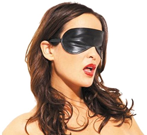 Allure Lingerie Leather Blindfold by Allure Lingerie
