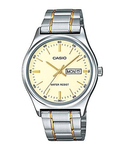 Quartz Date Day Watch (Casio Men's Mtp-v003sg-9a Day Date Quartz Watch)