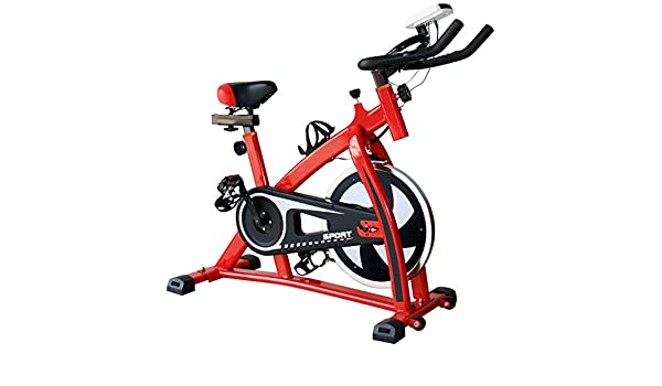3efa4268d19 Amazon.com   Nikkycozie Red Exercise bike Gym Bicycle Fitness Cardio Workout  Home Indoor Stationary Bike   Sports   Outdoors