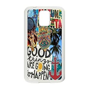 Custom Colorful Case for SamSung Galaxy S5 I9600, Good Vibes Cover Case - HL-504148