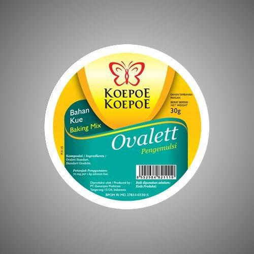 Koepoe-koepoe Baking Mix Ovalett Ovalette Emulsifiers, 30 ...
