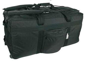 160L Bolsa de viaje con ruedas Negro negro: Amazon.es ...