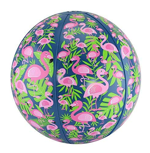 (FineLife Flamingo Beach Ball Set - Includes Two 10