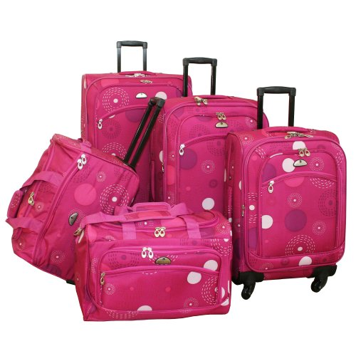 american-flyer-luggage-fireworks-5-piece-spinner-set-pink-one-size