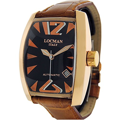 Locman Panorama Automatico swiss-automatic mens Watch R.152 (Certified Pre-owned)