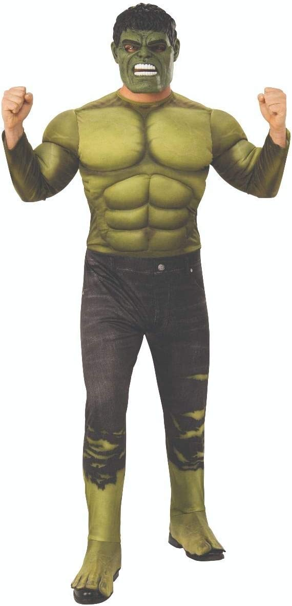 Marvel - Disfraz de Hulk para hombre (Infinity Wars), Talla M/L ...