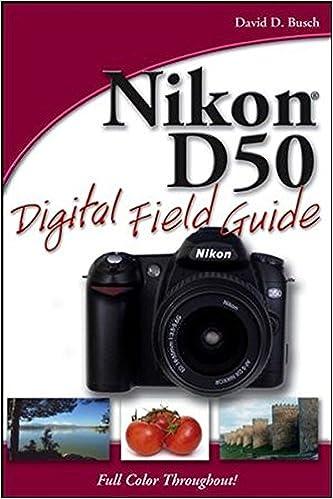 Book Nikon D50 Digital Field Guide
