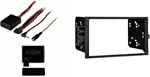 Metra Axxess ASWC-1 Universal Steering Wheel Control Interface & Metra Electronics 95-2001 Double DIN Installation Dash Kit for Select 1990-Up GM Vehicles