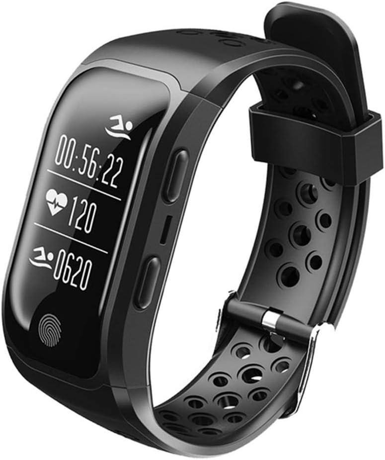 Lhlbgdz Pulsera Hombres IP68 a Prueba de Agua Banda Inteligente Monitor de Ritmo cardíaco Llamada de recordatorio GPS Pulsera Deportes